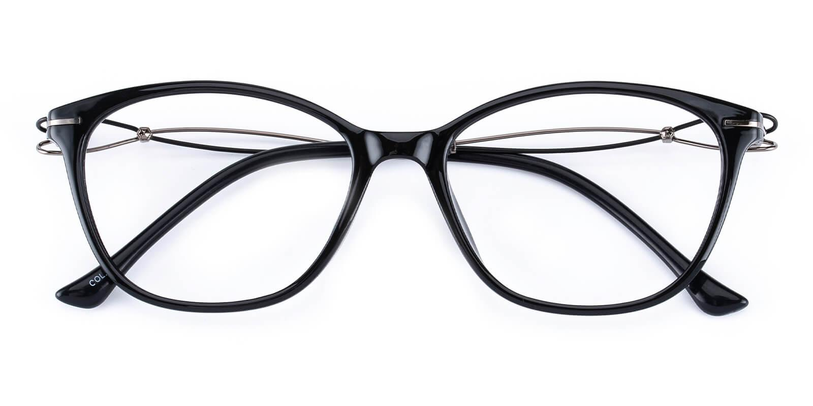 Godsilk-Black-Cat-Metal / TR-Eyeglasses-detail