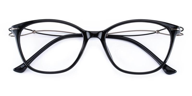 Godsilk-Black-Eyeglasses