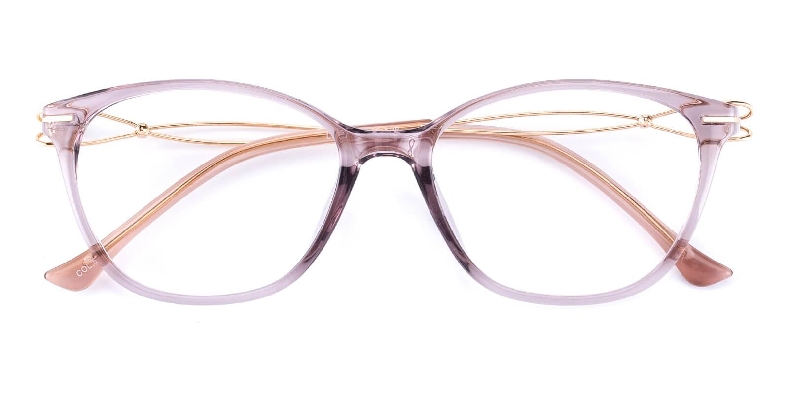 Godsilk-Purple-Cat-Metal / TR-Eyeglasses-detail