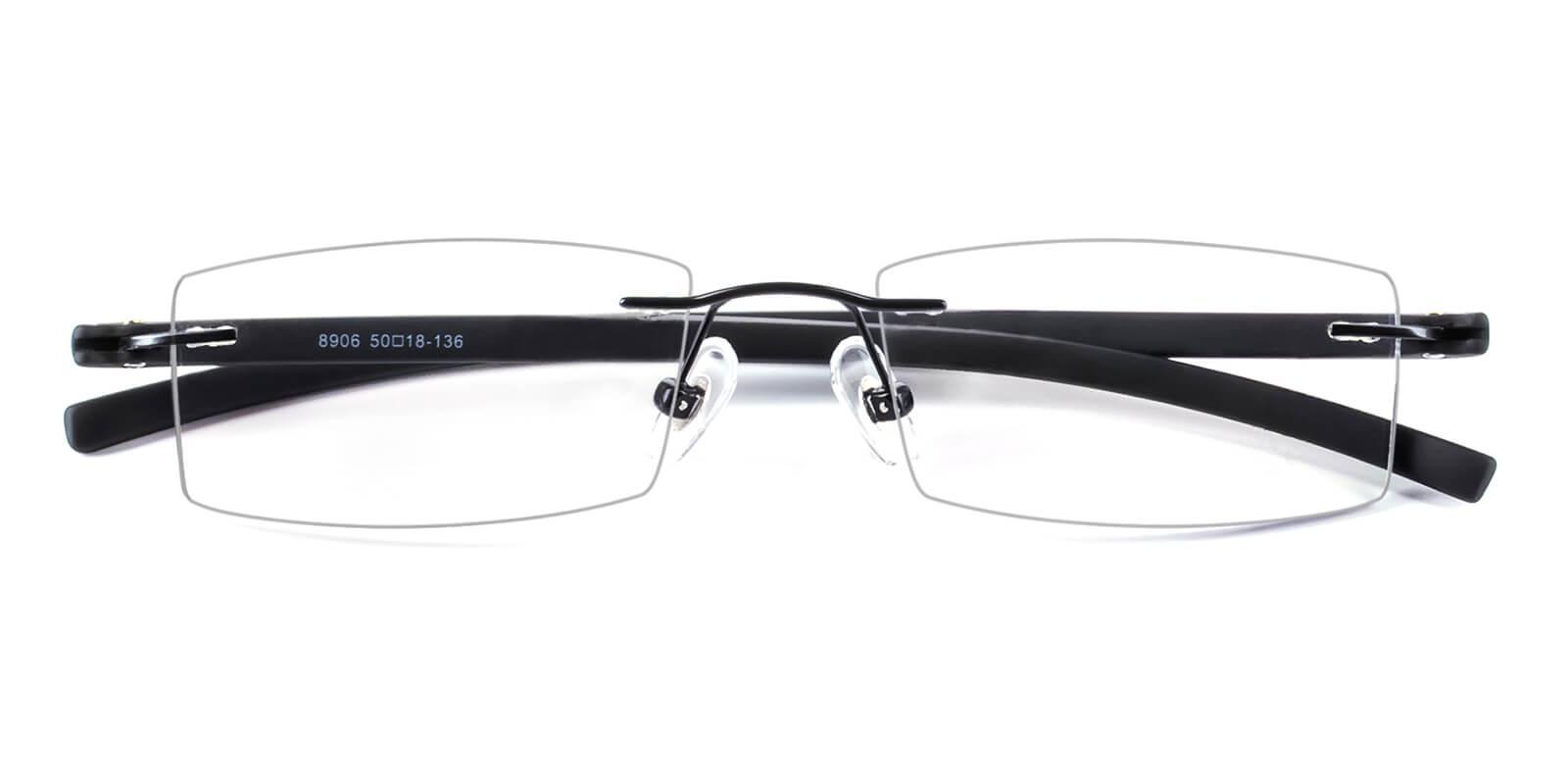 Trimming-Black-Varieties-Metal / Acetate-Eyeglasses-detail
