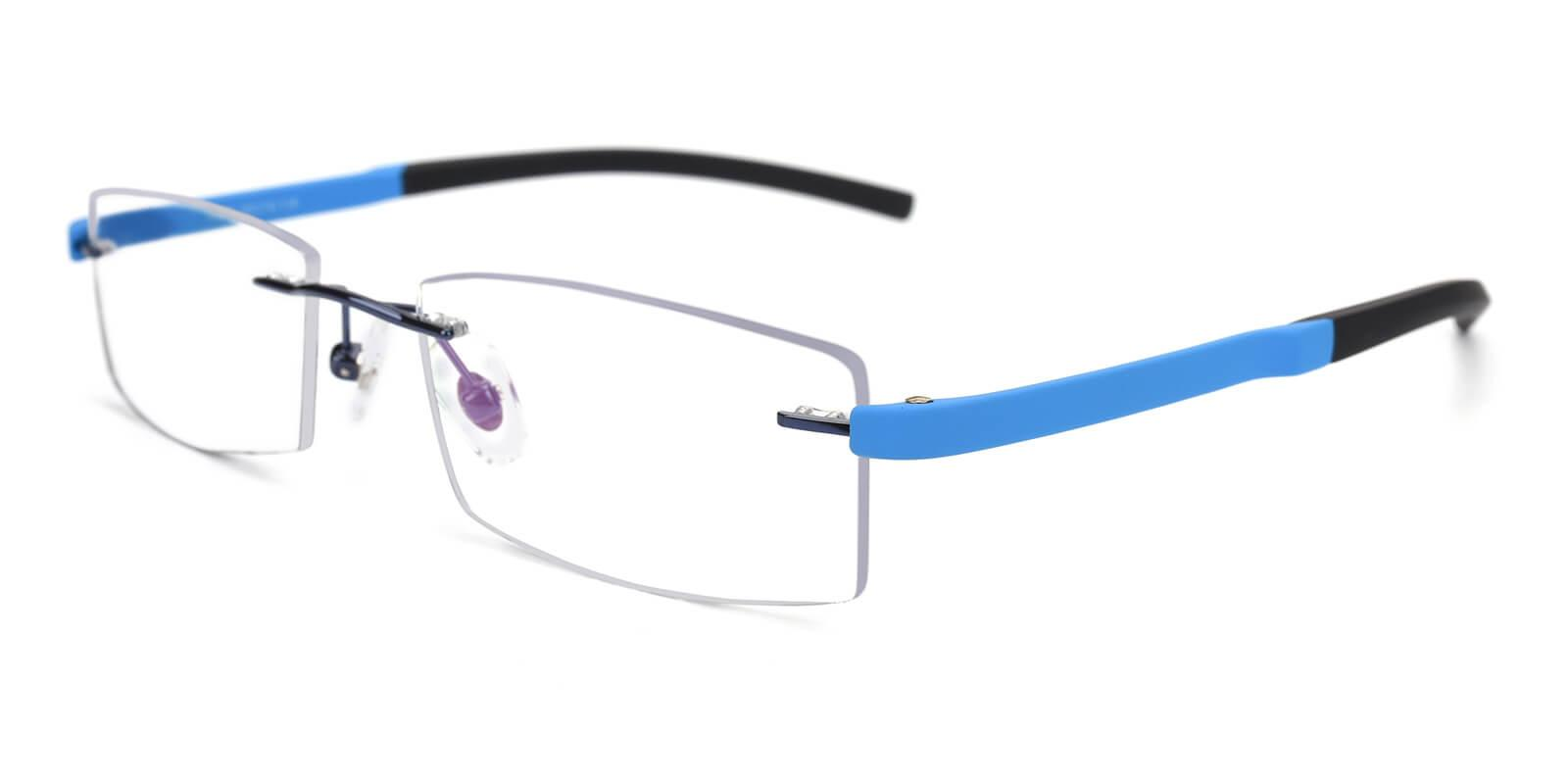 Trimming-Blue-Varieties-Metal / Acetate-Eyeglasses-additional1