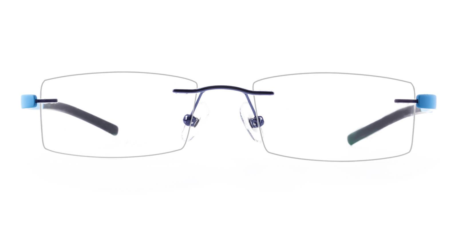 Trimming-Blue-Varieties-Metal / Acetate-Eyeglasses-additional2