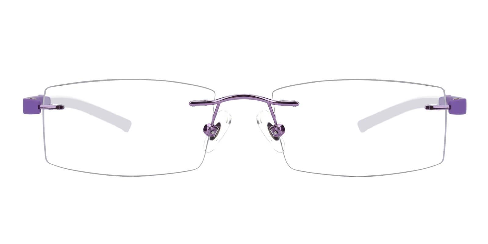 Trimming-Purple-Varieties-Metal / Acetate-Eyeglasses-additional2