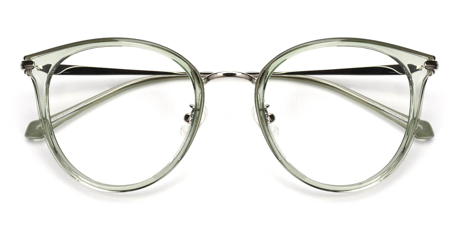 Ruby-Green-Cat-Metal / TR-Eyeglasses-detail
