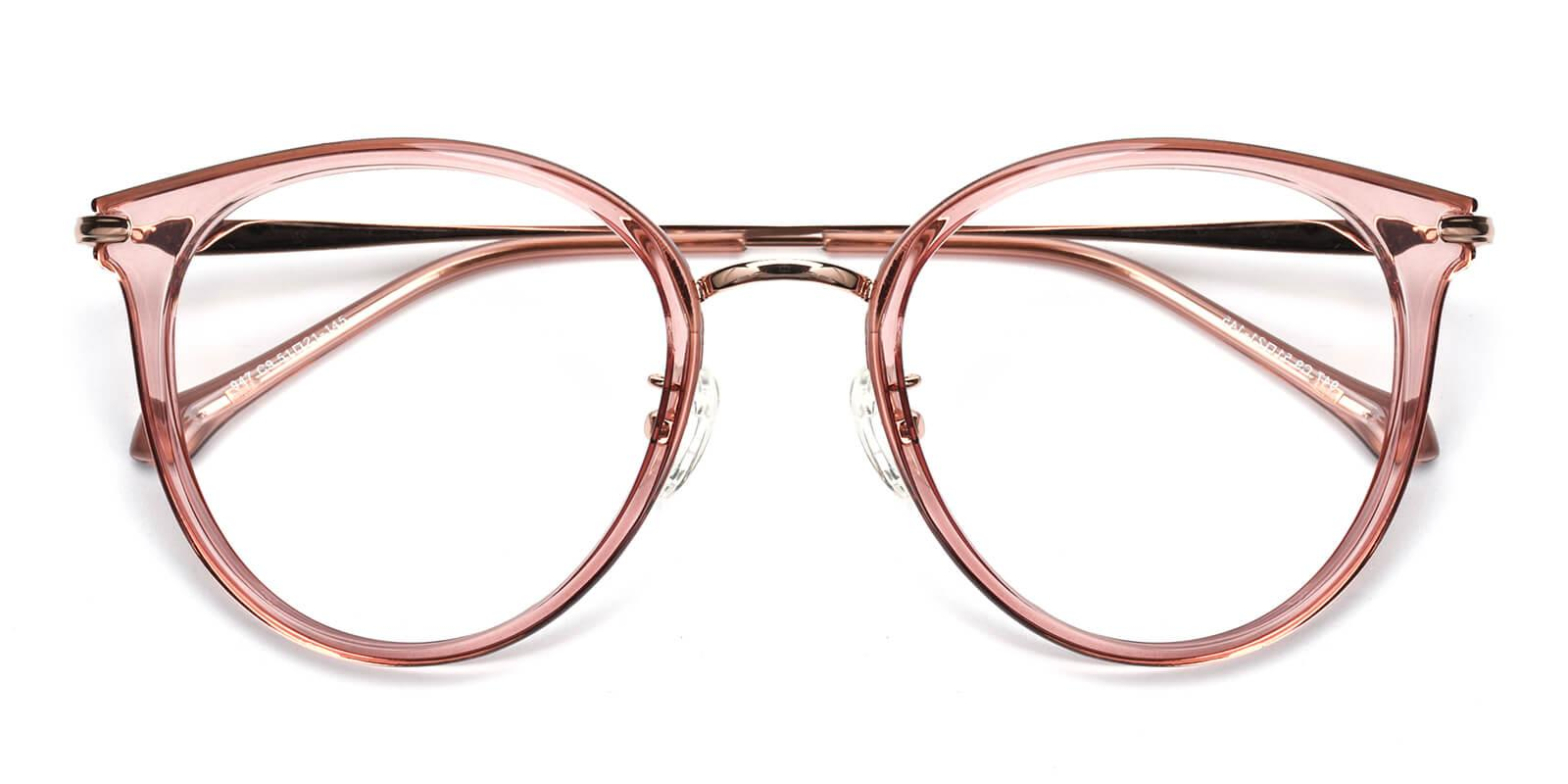 Ruby-Pink-Cat-Metal / TR-Eyeglasses-detail