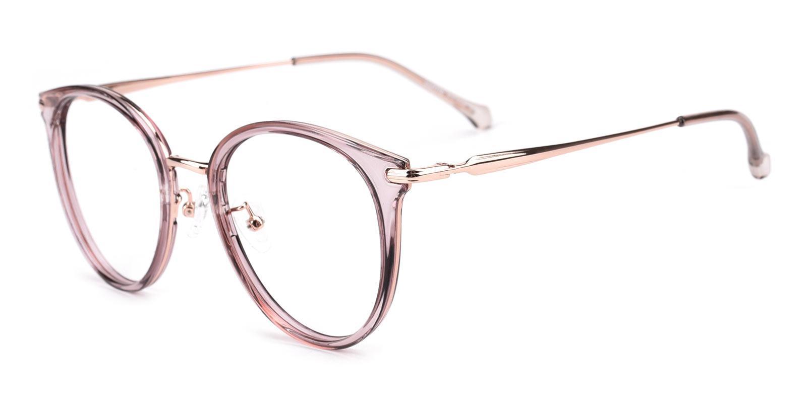 Ruby-Purple-Cat-TR / Metal-Eyeglasses-detail