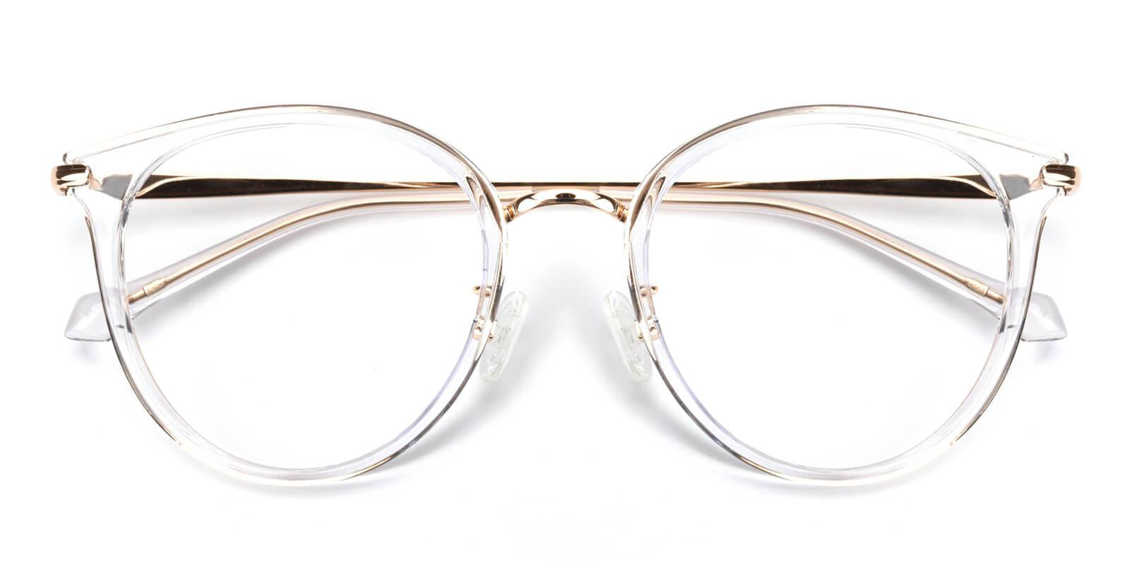 Ruby-Translucent-Cat-Metal / TR-Eyeglasses-detail