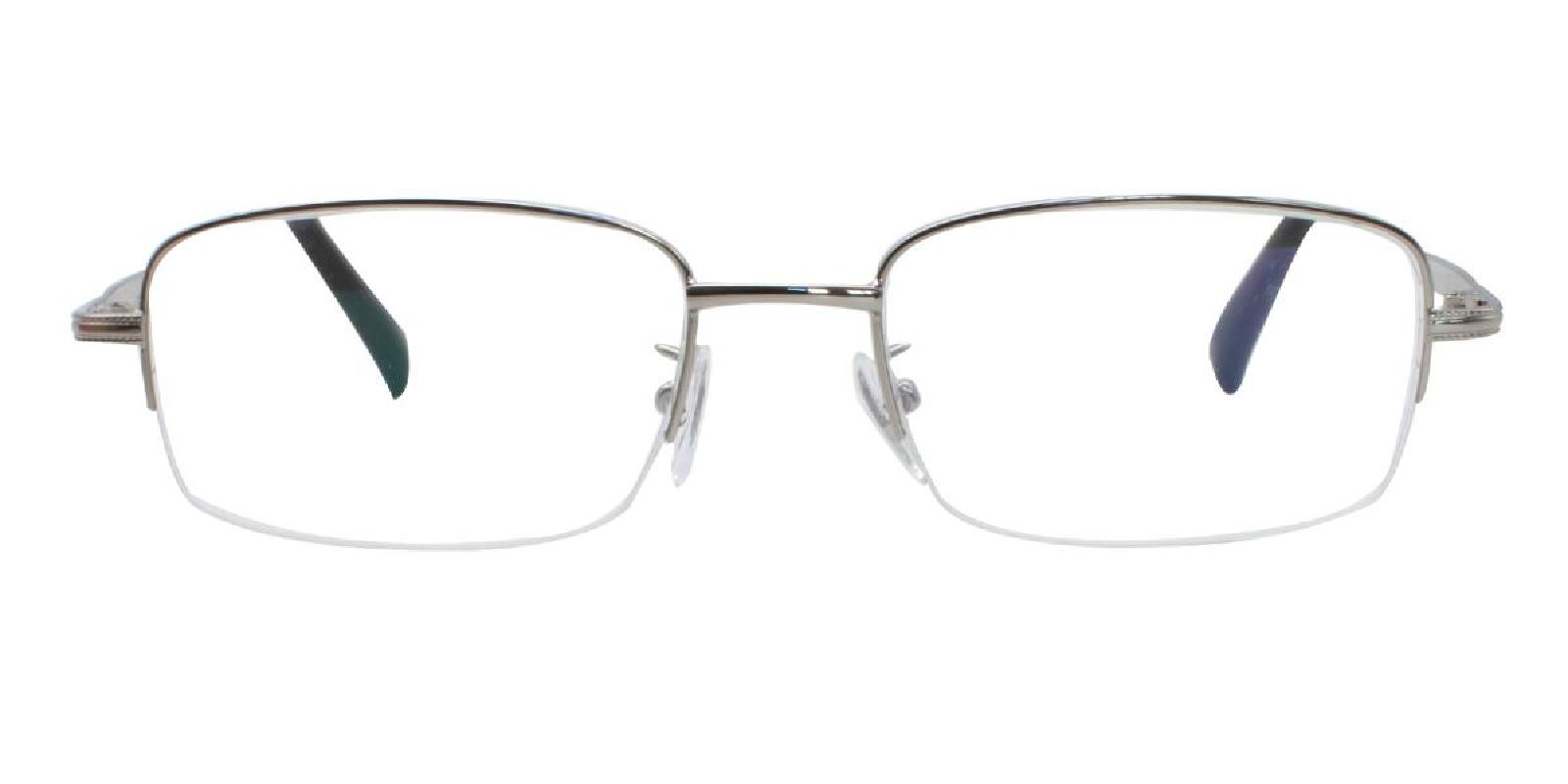 Slimber-Silver-Rectangle-Metal-Eyeglasses-additional2