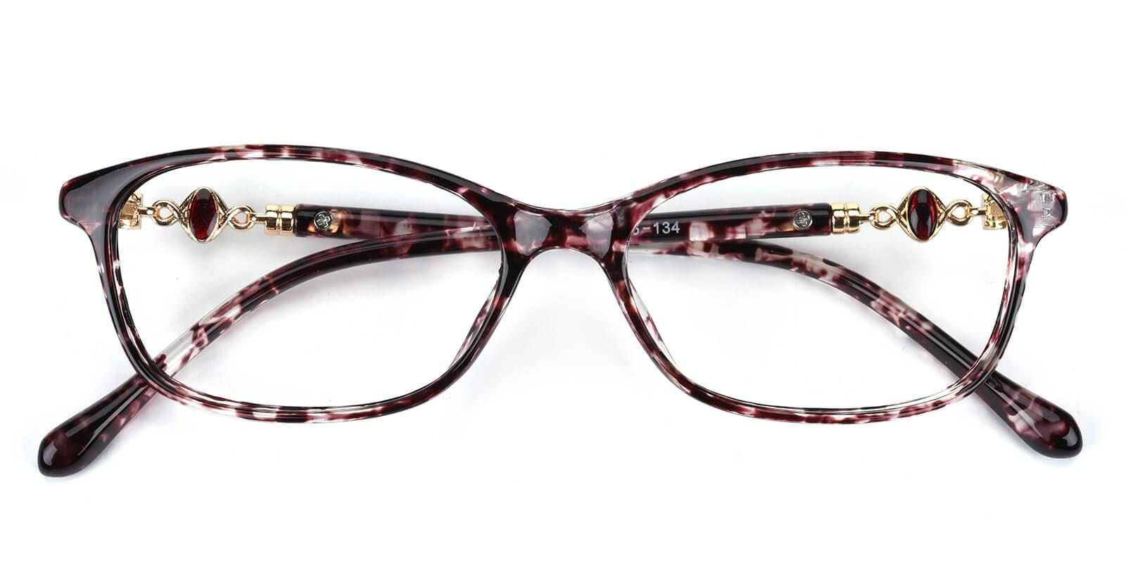 Butterfly-Purple-Cat-Plastic-Eyeglasses-detail