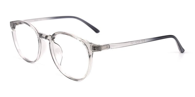 Aure-Gray-Eyeglasses / Lightweight / UniversalBridgeFit