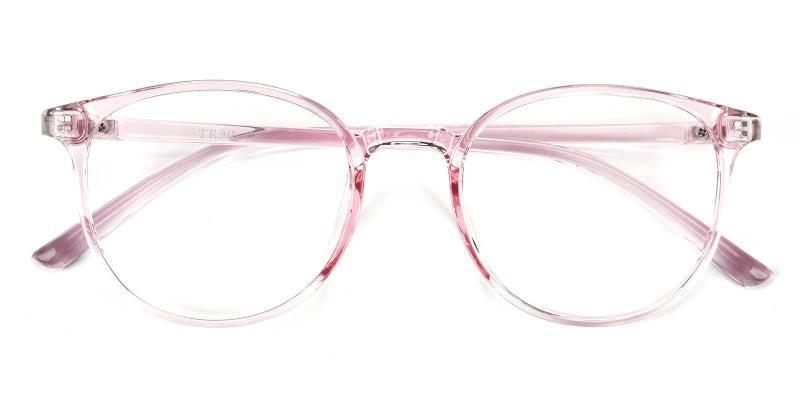 Aure-Pink-Eyeglasses