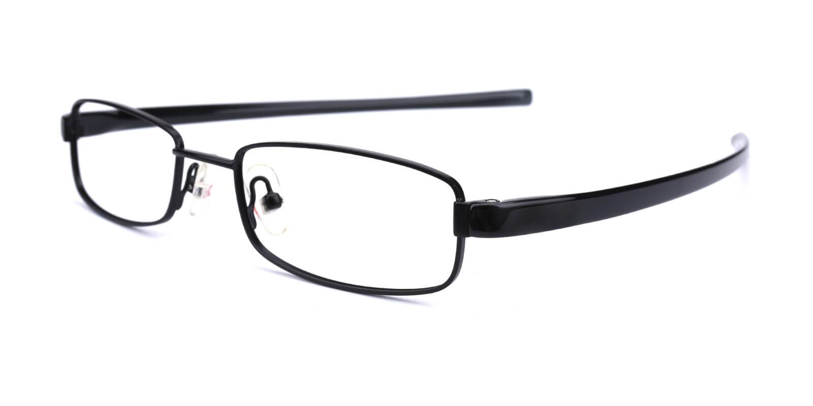 Slender-Black-Rectangle-Metal-Eyeglasses-additional1