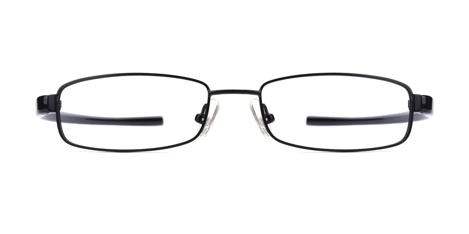 Slender-Black-Rectangle-Metal-Eyeglasses-additional2