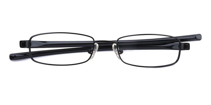 Slender-Black-Eyeglasses