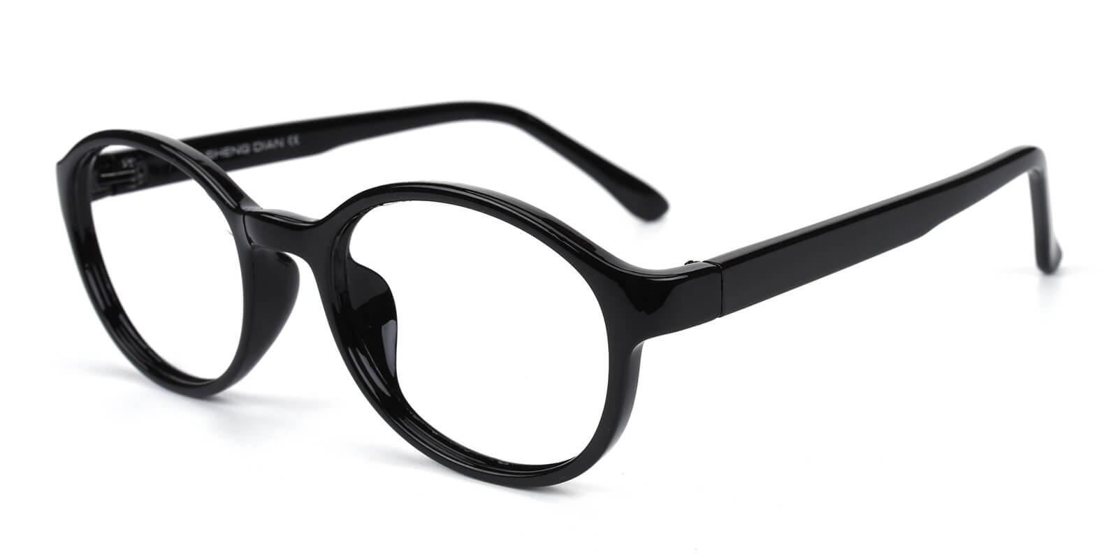 Achiever-Black-Round-Plastic-Eyeglasses-additional1