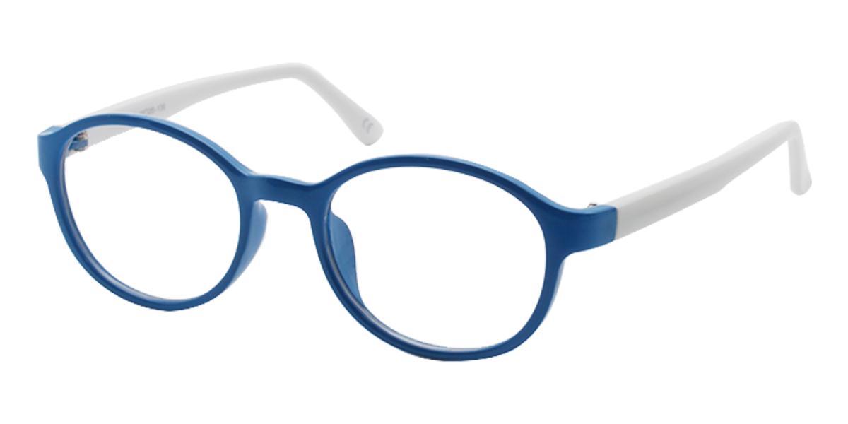 Achiever-Blue-Round-Plastic-Eyeglasses-additional1