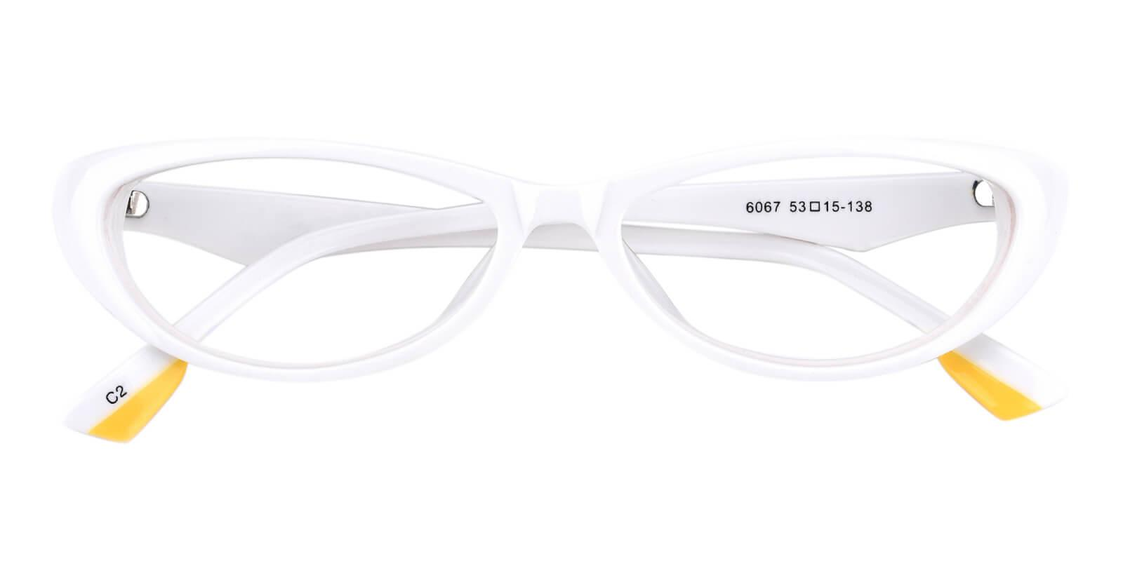Neutral-White-Cat-Acetate-Eyeglasses-detail