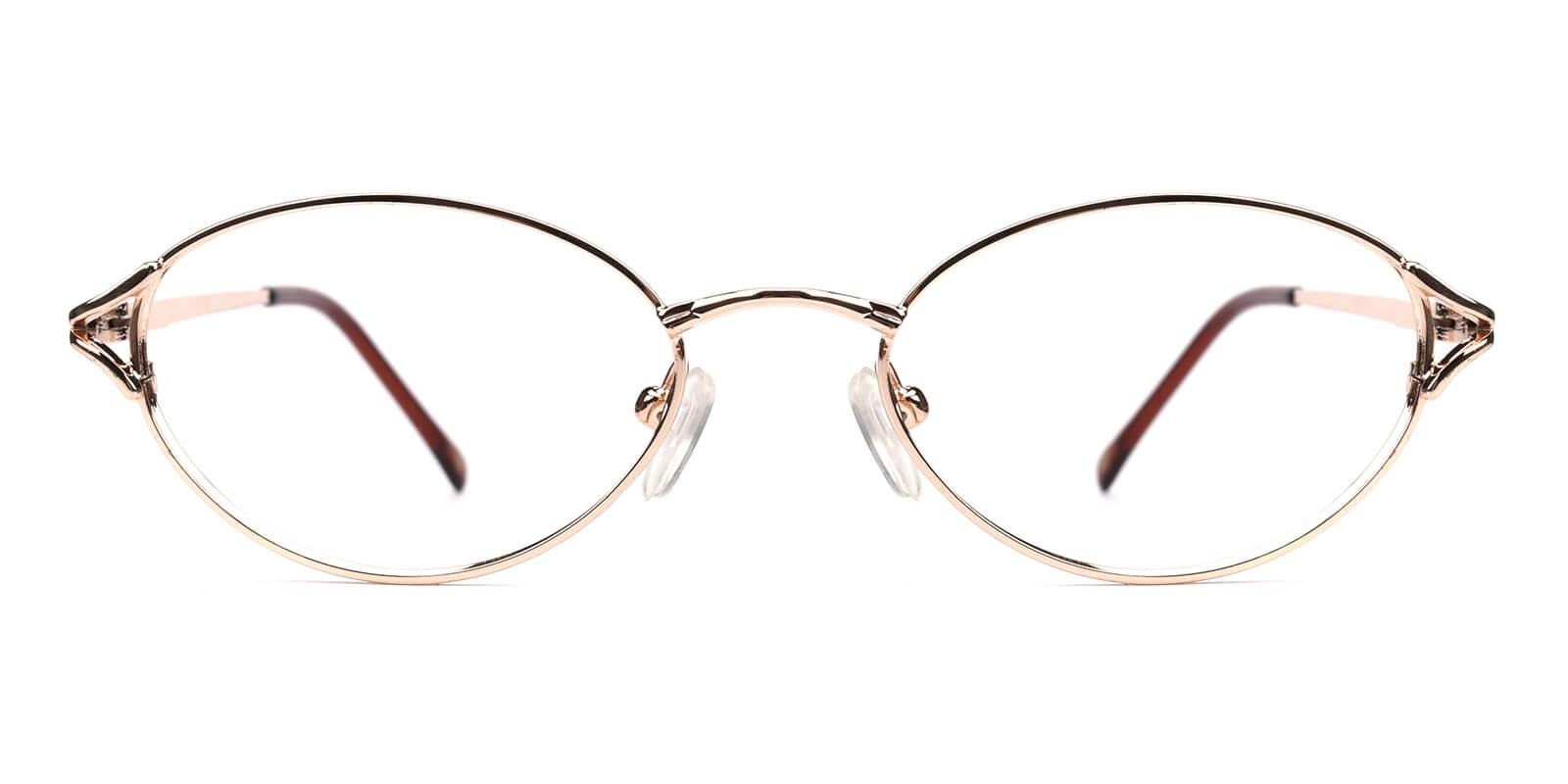 Victoria-Gold-Oval / Cat-Metal-Eyeglasses-additional2