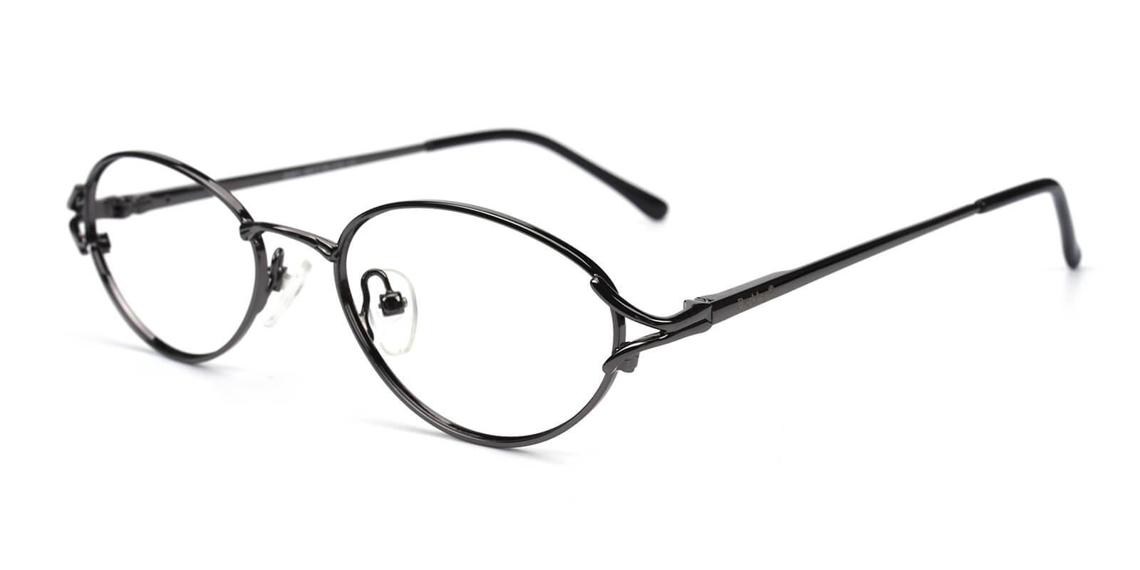 Victoria-Gun-Oval / Cat-Metal-Eyeglasses-additional1