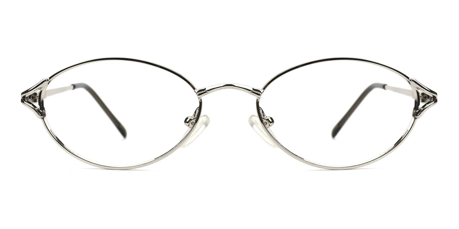 Victoria-Silver-Oval / Cat-Metal-Eyeglasses-additional2