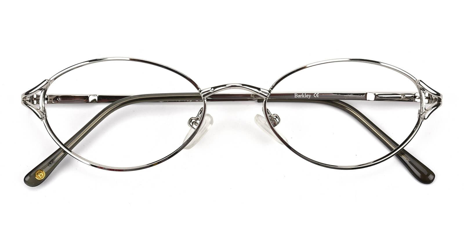 Victoria-Silver-Oval / Cat-Metal-Eyeglasses-detail