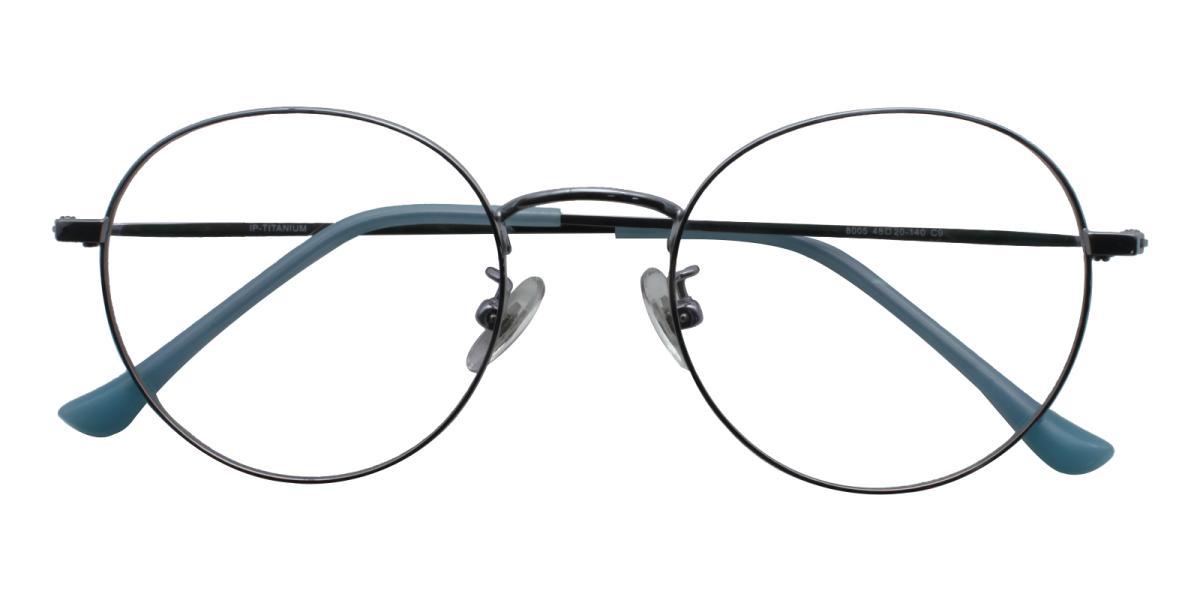 Morelia-Blue-Round-Titanium-Eyeglasses-detail