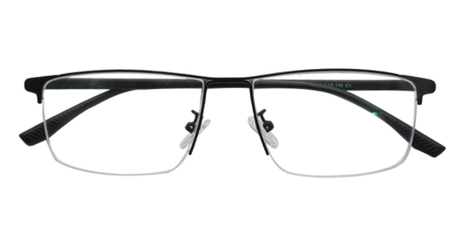 Isaac-Black-Rectangle-Metal-Eyeglasses-additional2