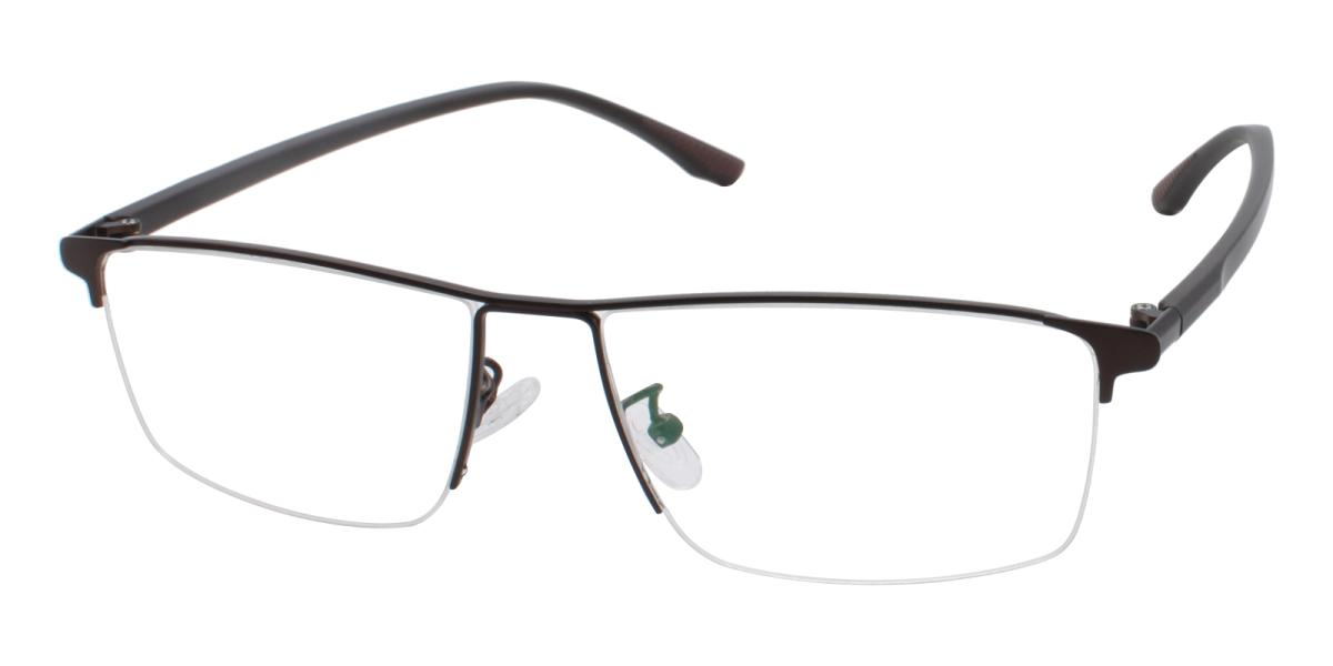 Isaac-Brown-Rectangle-Metal-Eyeglasses-additional1
