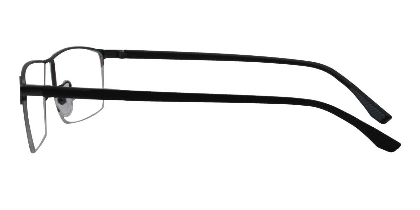 Isaac-Gun-Rectangle-Metal-Eyeglasses-detail