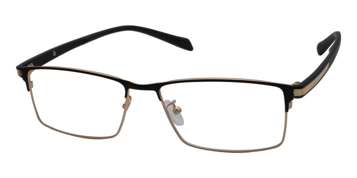 Frade-Gold-Rectangle-Metal-Eyeglasses-additional1