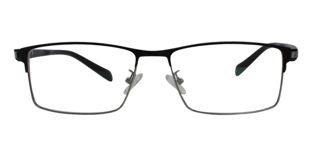 Frade-Silver-Rectangle-Metal-Eyeglasses-detail
