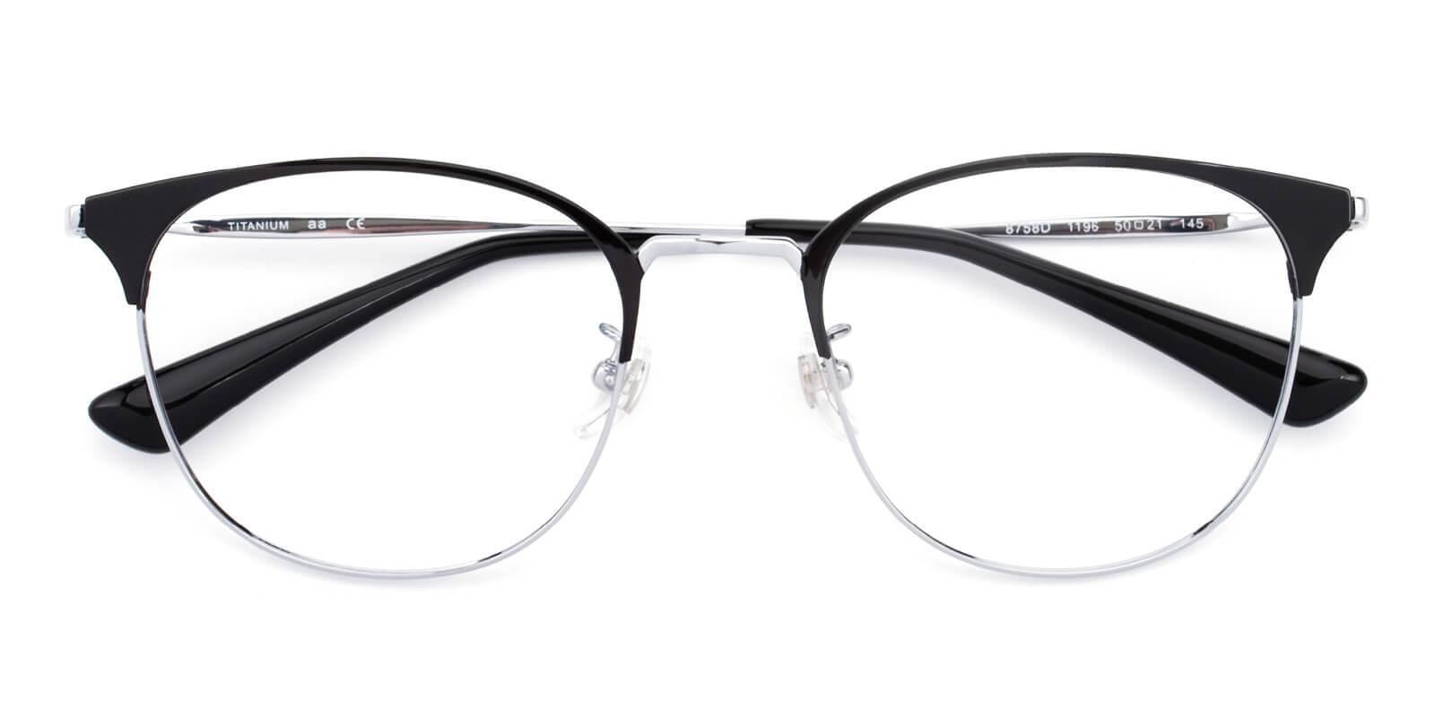 Belle-Silver-Cat-Titanium-Eyeglasses-detail