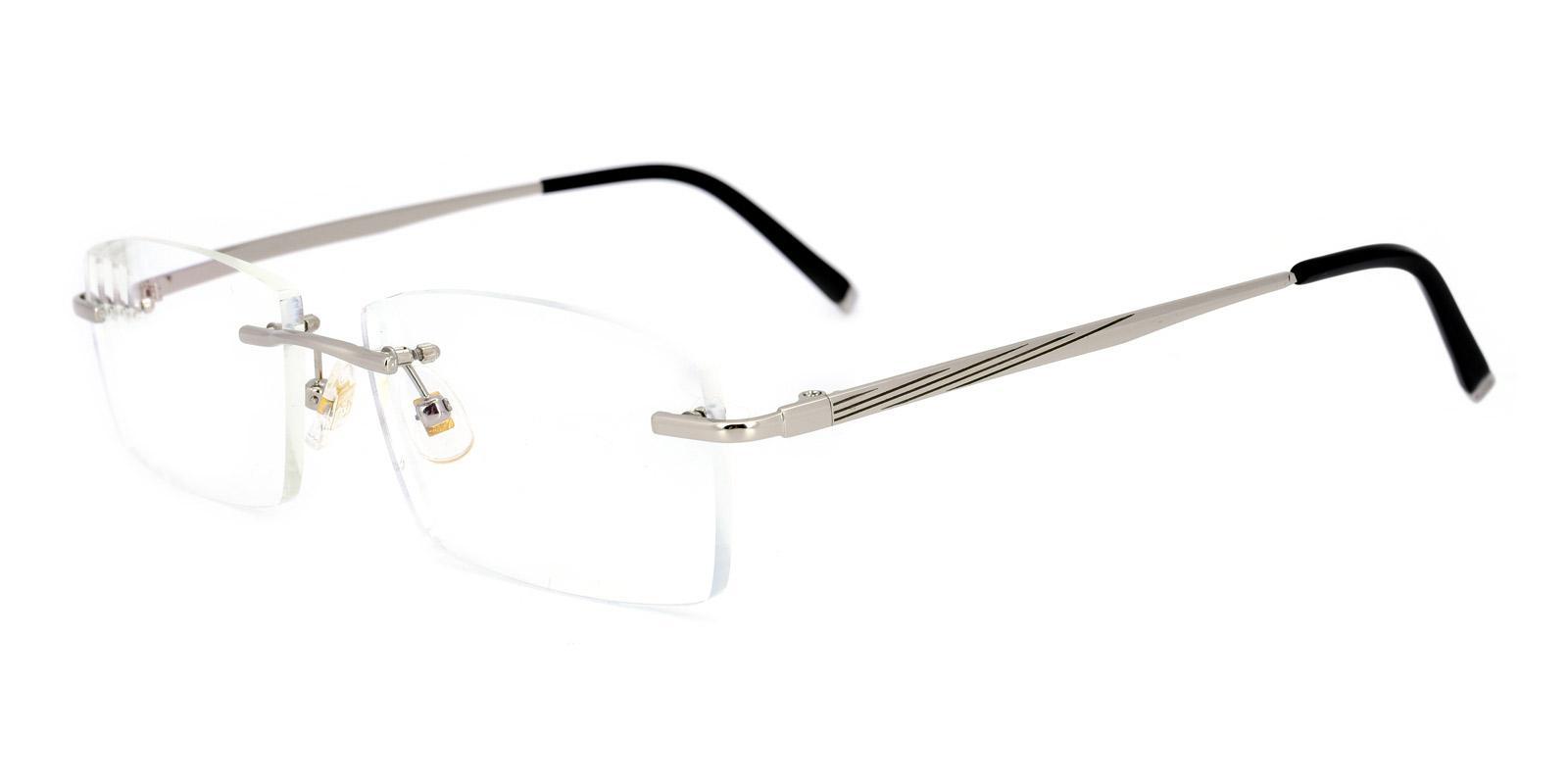 Edison-Silver-Rectangle-Titanium-Eyeglasses-detail