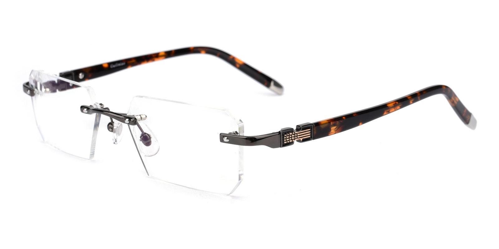 Somalia-Gun-Rectangle-Titanium-Eyeglasses-detail