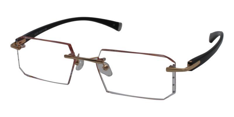 Pandoco-Gold-Eyeglasses