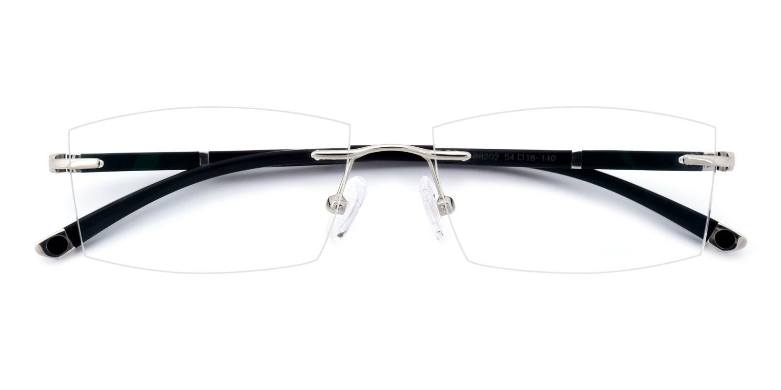 Doumbia-Silver-Varieties-Titanium-Eyeglasses-detail
