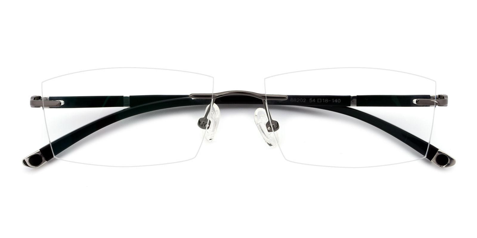 Doumbia-Gun-Rectangle-Titanium-Eyeglasses-detail