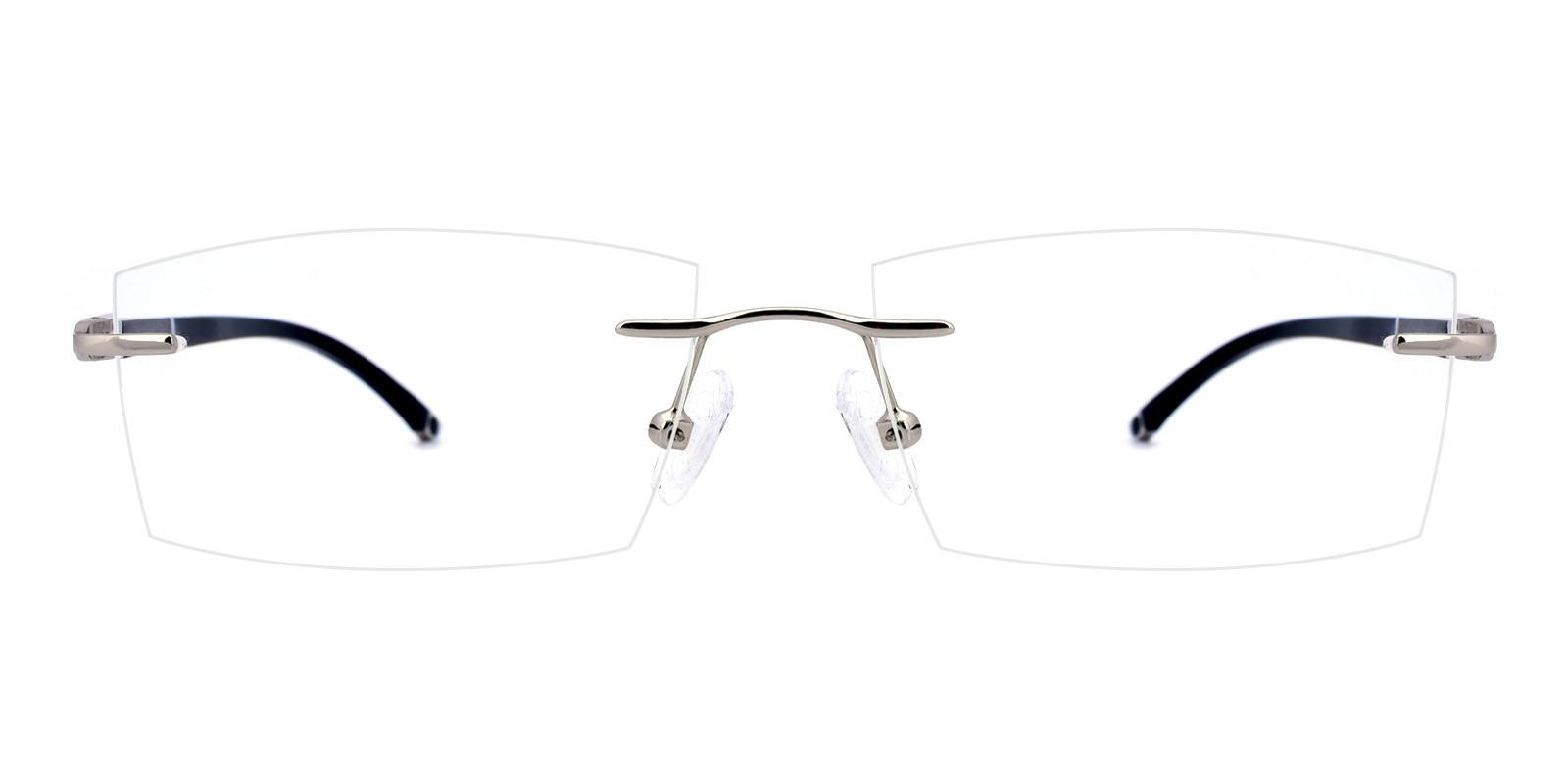 Doumbia-Silver-Rectangle-Titanium-Eyeglasses-detail