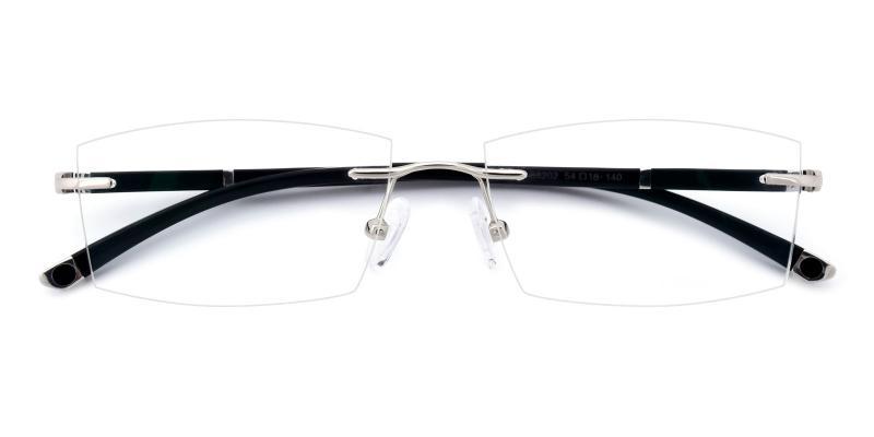 Doumbia-Silver-Eyeglasses