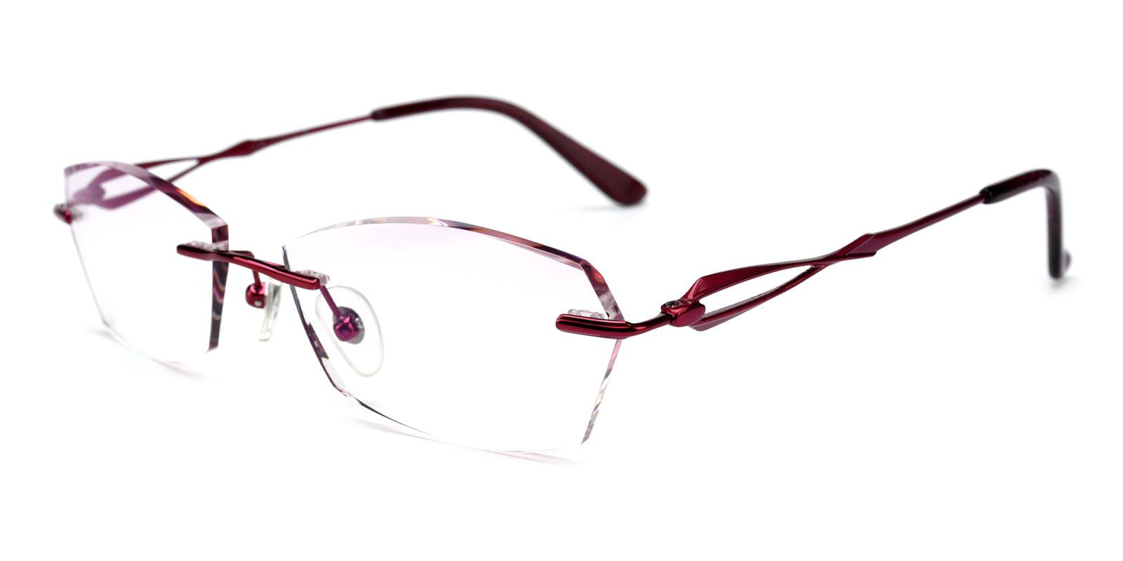 Linden-Red-Varieties-Titanium-Eyeglasses-detail