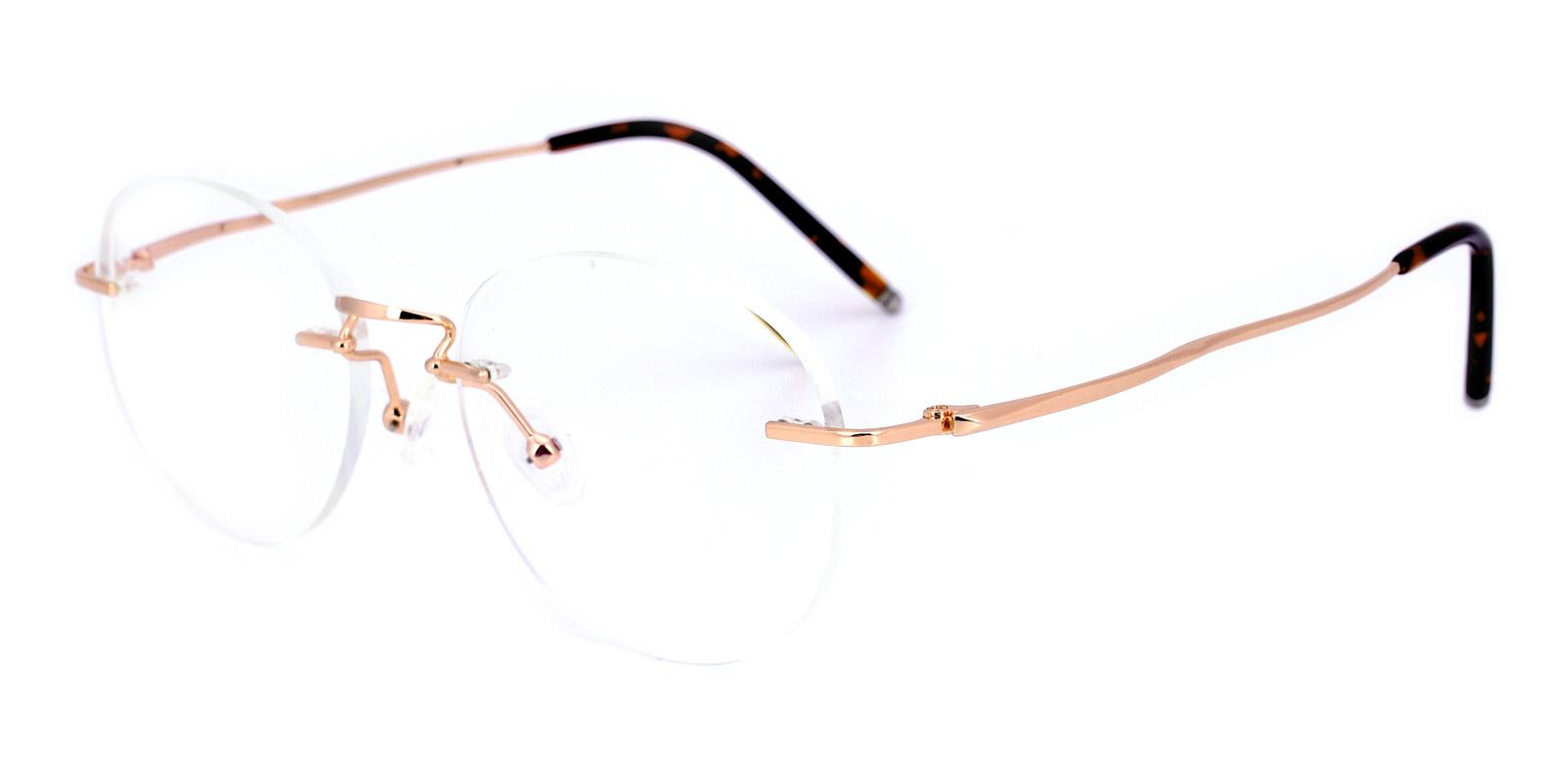 Pandimo-Gold-Oval-Titanium-Eyeglasses-detail