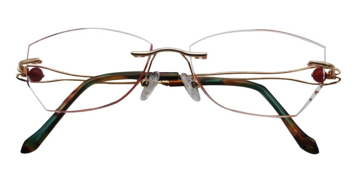 Lilinala-Gold-Varieties-Titanium-Eyeglasses-detail