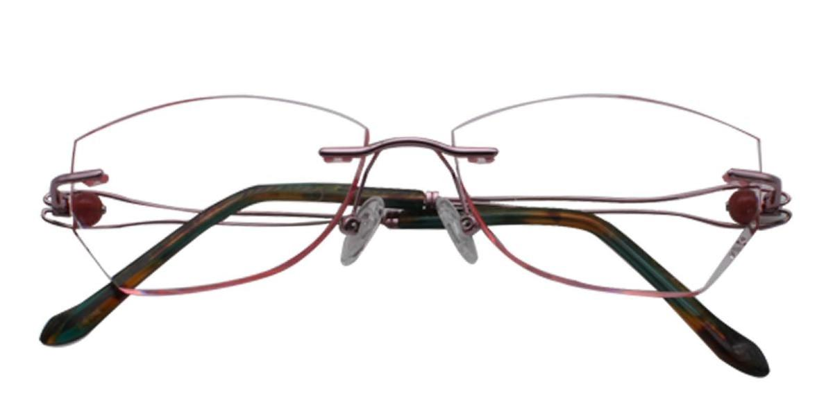Lilinala-Pink-Varieties-Titanium-Eyeglasses-detail