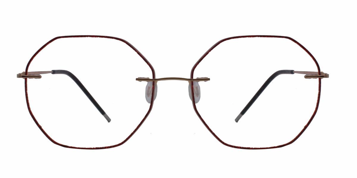 Tiwaya-Red-Varieties-Titanium-Eyeglasses-detail