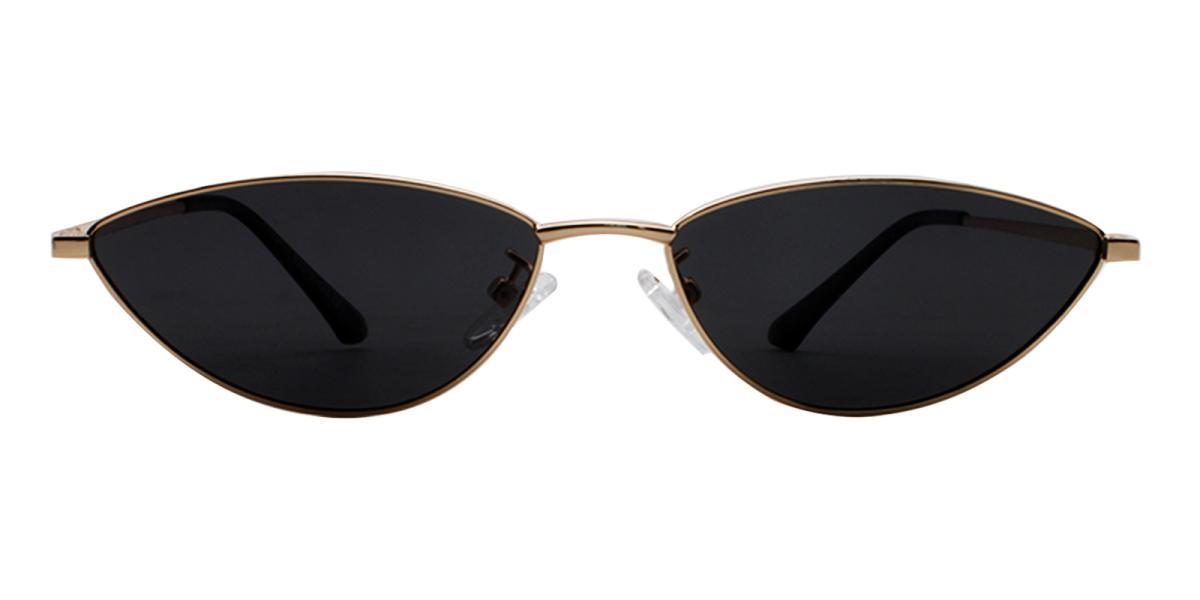Bingo-Black-Cat / Geometric-Metal-Sunglasses-detail