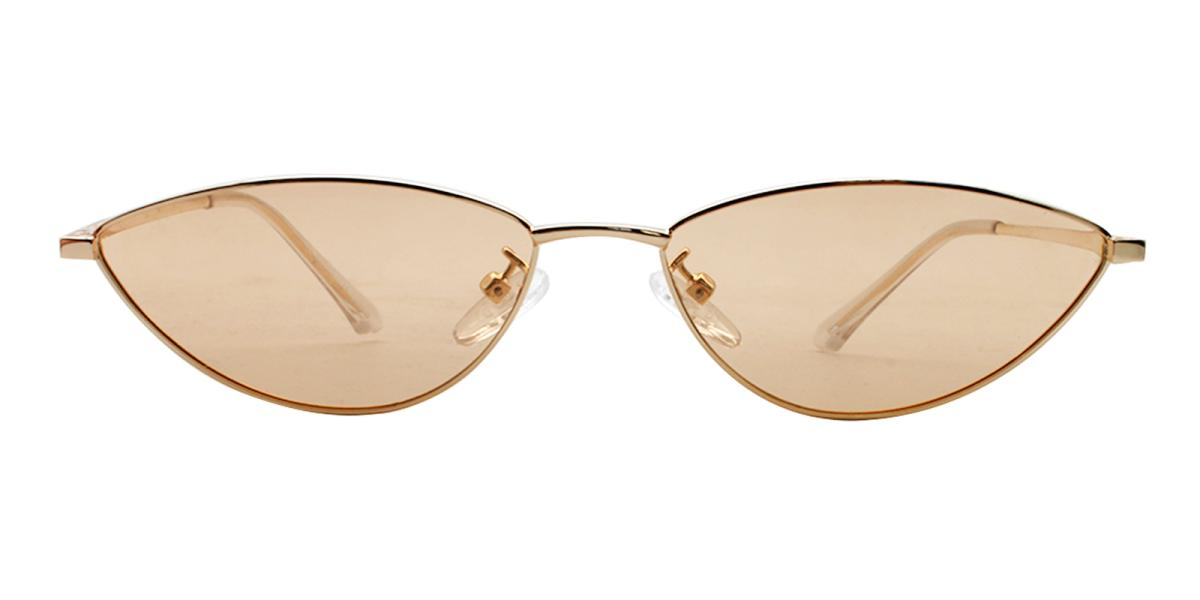 Bingo-Gold-Cat / Geometric-Metal-Sunglasses-additional2