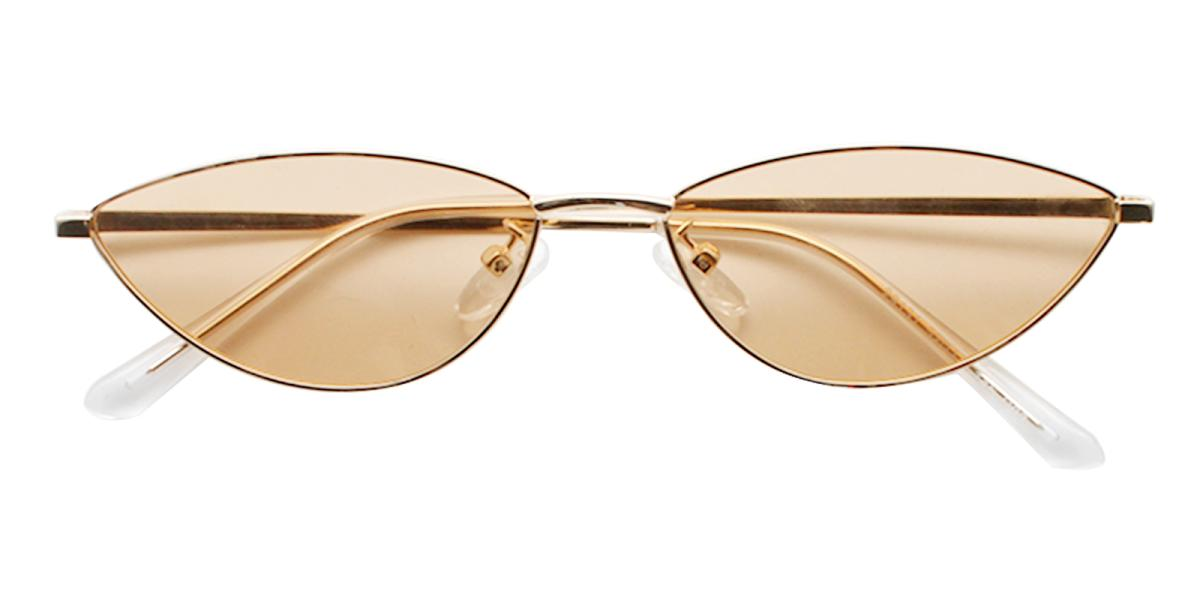 Bingo-Gold-Cat / Geometric-Metal-Sunglasses-detail