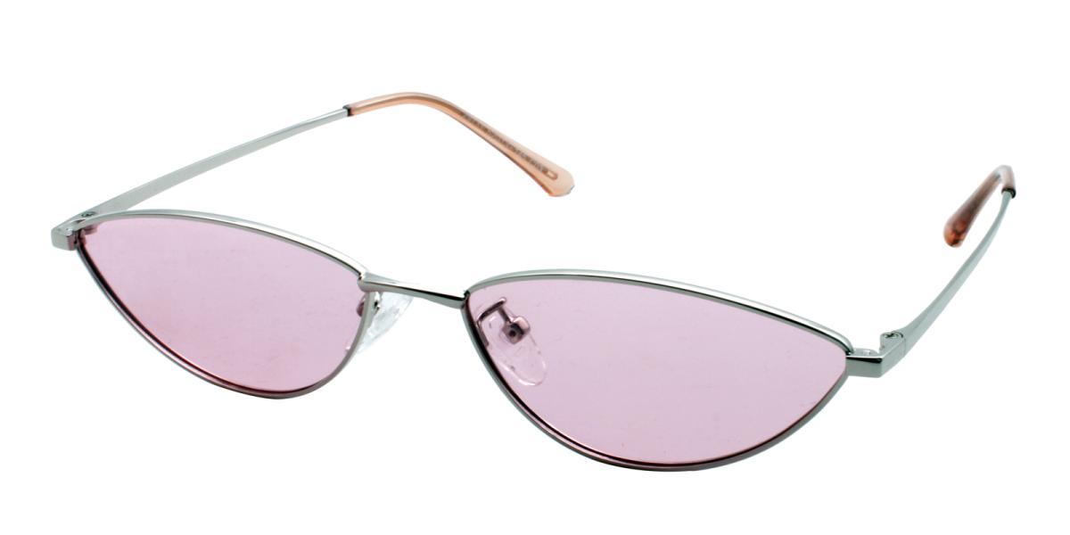 Bingo-Pink-Cat / Geometric-Metal-Sunglasses-additional1