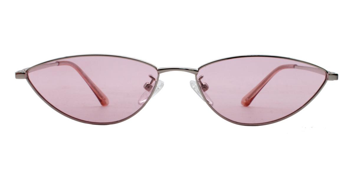 Bingo-Pink-Cat / Geometric-Metal-Sunglasses-additional2