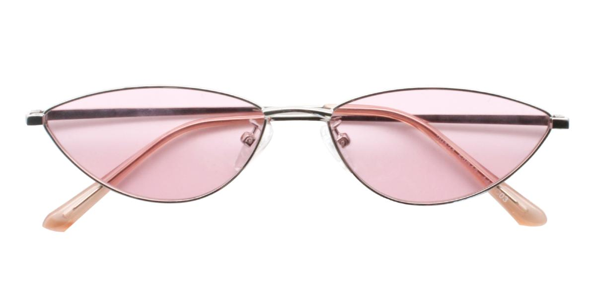 Bingo-Pink-Cat / Geometric-Metal-Sunglasses-detail